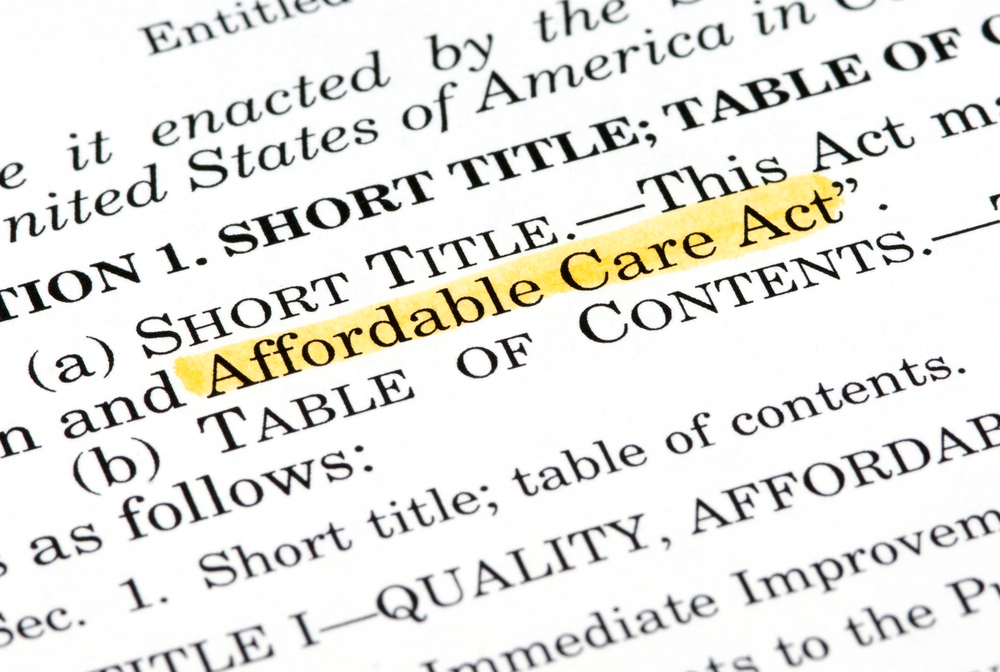 """featured image showing Words """"Affordable Care Act"""" highlighted within the Affordable Care Act document"""